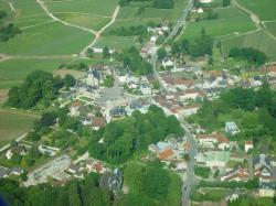 Vue aerienne village